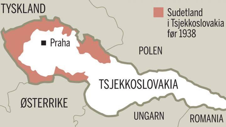 tsjekkoslovakia kart Tsjekkernes langsomme oppgjør med fortiden. | Aftenposten Innsikt tsjekkoslovakia kart