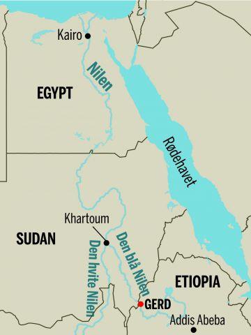 nilen kart Demningen som kan få Afrika til å briste. | Aftenposten Innsikt nilen kart